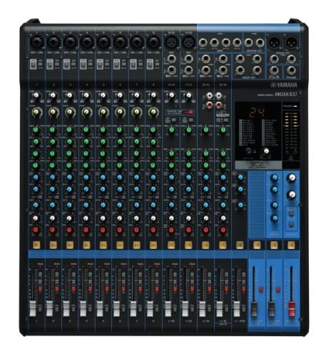 Yamaha MG16XU 16channels audio mixer