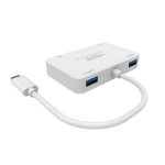 Vision TC-USBCHUB interface hub USB 3.0 (3.1 Gen 1) Type-C White