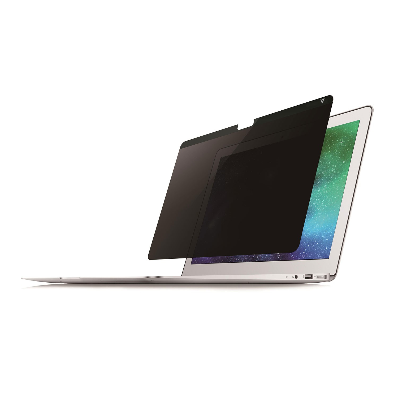 V7 Filtro de privacidad magnético sin marcos para Mac 13,3″ - Relación de aspecto 16:10