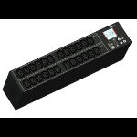 Raritan PX3-1842R power distribution unit (PDU) 2U Black 30 AC outlet(s)