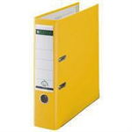 Leitz 180° Plastic Lever Arch File Yellow folder