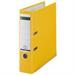 Leitz 180° Plastic Lever Arch File Yellow folder