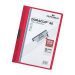 Durable DURACLIP® 30 A4 PVC Red report cover