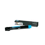 Lexmark X950X2CG Toner cyan, 22K pages