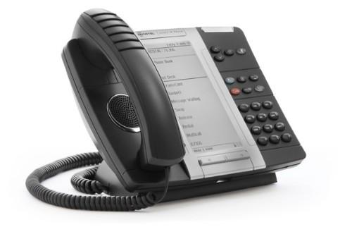 Mitel MiVOICE 5330e IP phone Black Wired handset