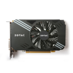 Zotac GeForce GTX 1060 NVIDIA GeForce GTX 1060 3GB ZT-P10610A-10L