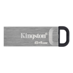 Kingston Technology DataTraveler Kyson USB flash drive 64 GB USB Type-A 3.2 Gen 1 (3.1 Gen 1) Silver