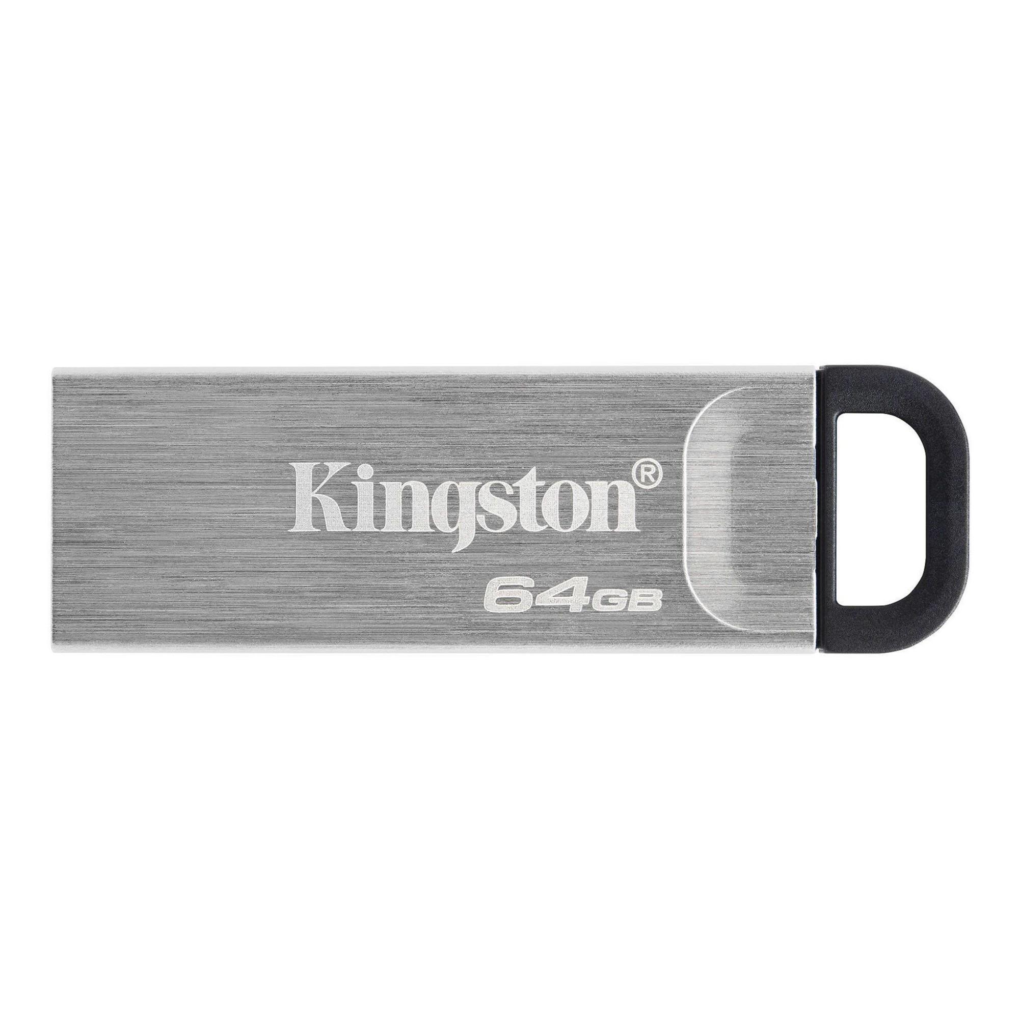 Kingston Technology DataTraveler Kyson USB flash drive 64 GB USB Type-A 3.2 Gen 1 (3.1 Gen 1) Silver