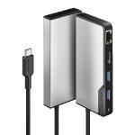 ALOGIC UCFUPRGE-SGR interface hub USB 3.2 Gen 1 (3.1 Gen 1) Type-C 5000 Mbit/s Black, Silver