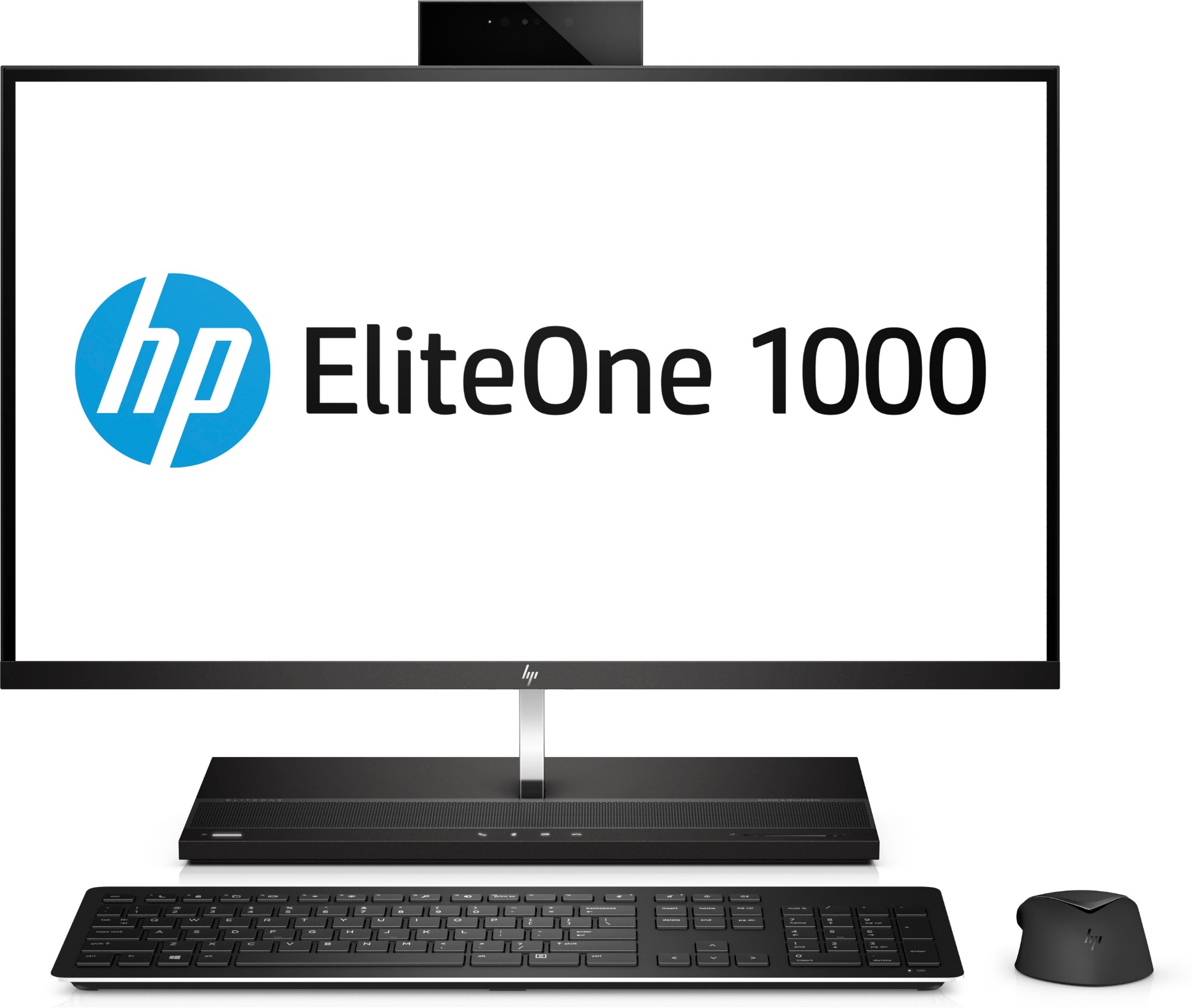 """HP EliteOne 1000 G1 3.6GHz i7-7700 27"""" 3840 x 2160pixels Touchscreen Black, Silver All-in-One PC"""