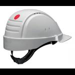 3M G2000CUV-VI White hard hat/safety helmet