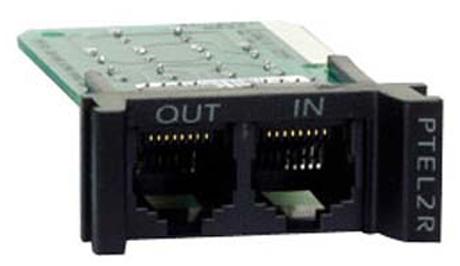 APC Surge Module for Analog Phone Line limitador de tensión Negro