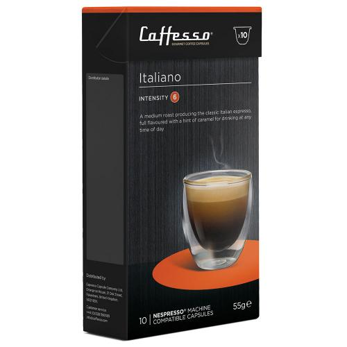 Caffesso Italiano Nespresso compatible coffee pods