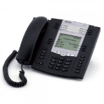 Mitel 6737i Wired handset 9lines LCD Black IP phone