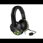 Turtle Beach XO Three Binaural Head-band Black, Green headset