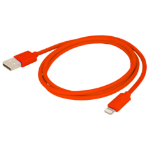 Urban Factory Cable USB to Lightning MFI certified - Red 1m