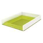 Leitz WOW Polystyrene Green, Metallic desk tray