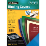 Fellowes Chromolux Gloss Covers Blue A4 binding cover