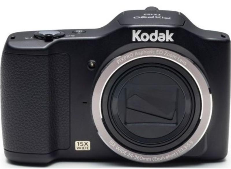 """Kodak PIXPRO FZ152 Compact camera 16.15MP 1/2.3"""" CCD 4608 x 3456pixels Black"""