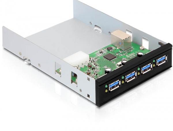 """4ports HUB USB 3.0 Int. 5,25"""""""