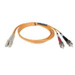 Tripp Lite Duplex Multimode 50/125 Fiber Patch Cable (LC/ST), 2M