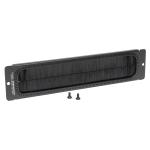 Tripp Lite SmartRack Brush Strip Plate for Wall-Mount Racks
