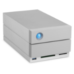 LaCie 2big Dock Thunderbolt 3 8000GB Desktop Grey disk array