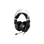 MSI Immerse GH60 headset Binaural Head-band Black, Red