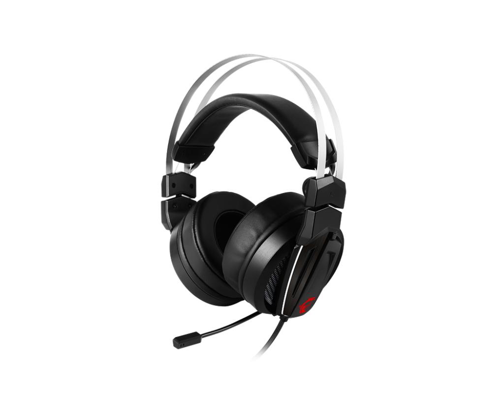 MSI Immerse GH60 headset Binaural Head-band Black, Red