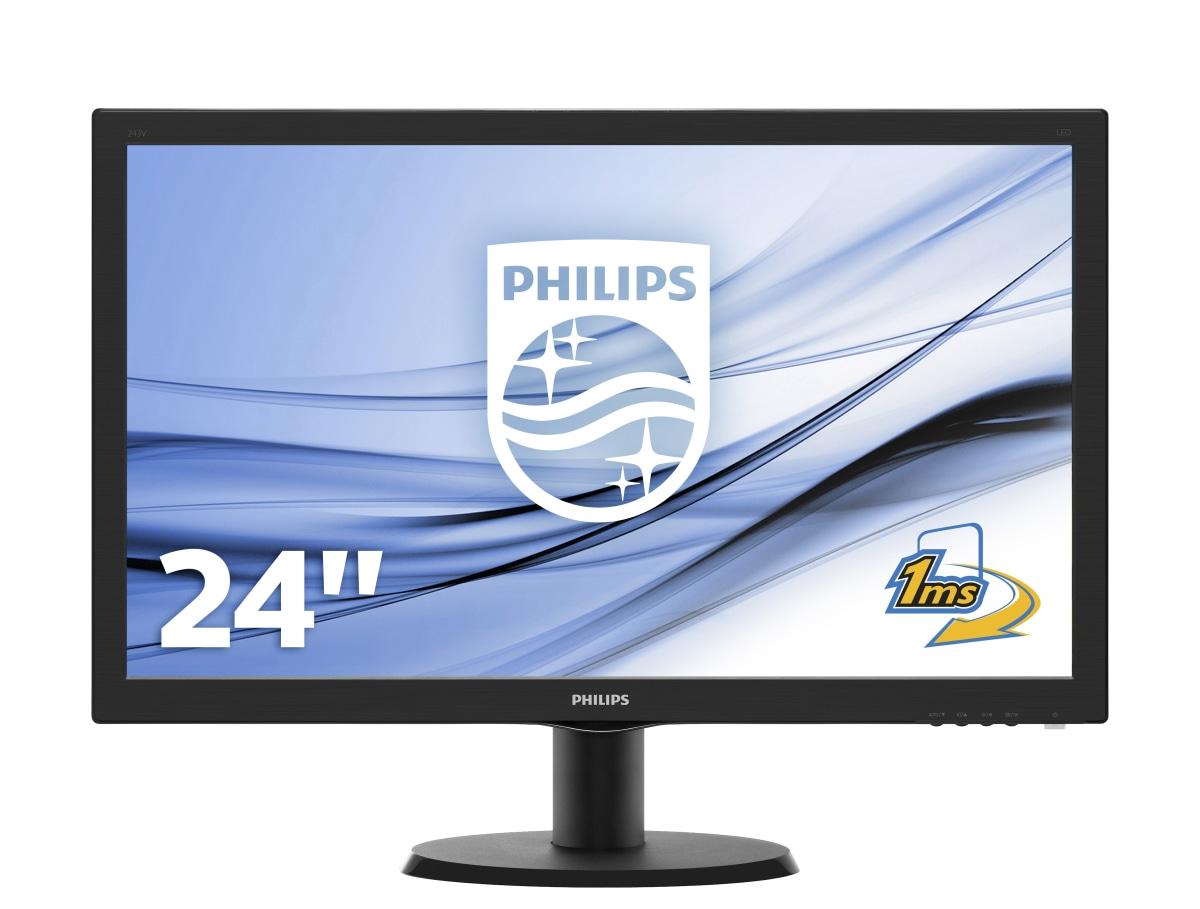 Philips V Line LCD-monitor met SmartControl Lite 243V5LHAB/00