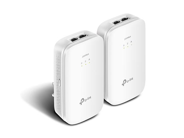 Powerline Gigabit 2-port Kit Av2000 White