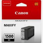 Canon 9218B001 (PGI-1500 BK) Ink cartridge black, 400 pages, 12ml