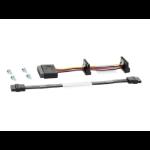 Hewlett Packard Enterprise 877578-B21 SATA cable SATA 7-pin Black