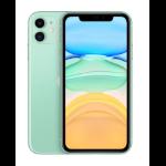 "Apple iPhone 11 15.5 cm (6.1"") 256 GB Dual SIM 4G Green iOS 14"