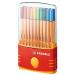 Stabilo Point 88 Multi 20pc(s) fineliner
