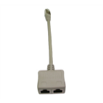 Cables Direct RJ-MOD cable splitter/combiner Cable combiner Grey