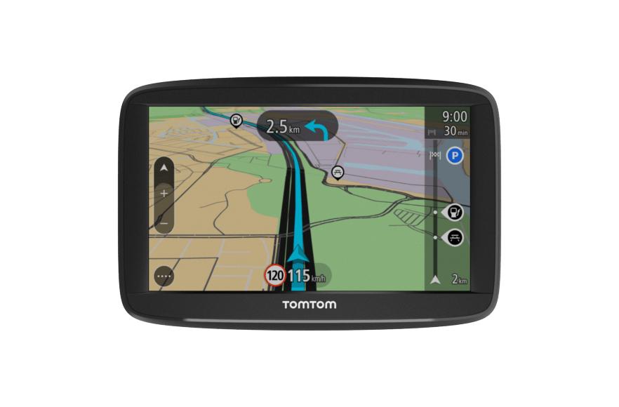 "TomTom Start 52 EU45 navegador 12,7 cm (5"") Pantalla táctil Portátil/Fijo Negro 235 g"
