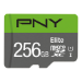 PNY Elite memory card 256 GB MicroSDXC Class 10 UHS-I