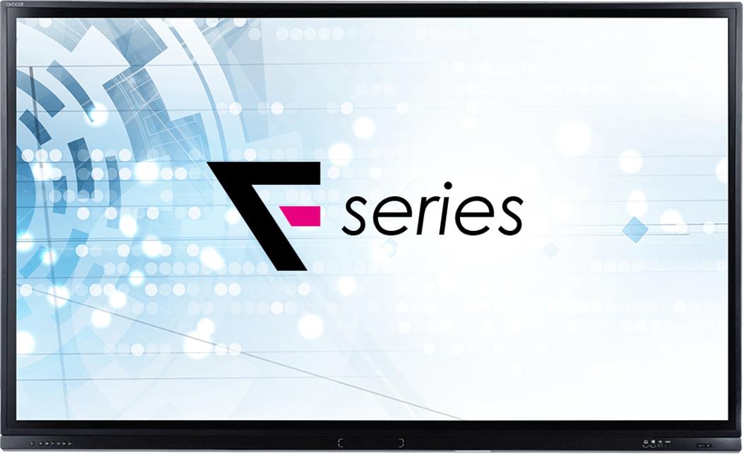 """Avocor F7550 pizarra y accesorios interactivos 190,5 cm (75"""") Pantalla táctil 3840 x 2160 Pixeles Negro USB"""