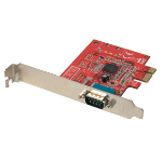 Lindy 1 Port Serial RS-232 PCIe Card interface cards/adapter