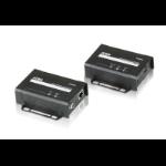 ATEN VE801-AT-E AV extender AV transmitter & receiver Black