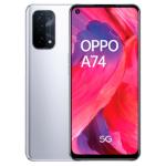 "OPPO A74 5G 16.5 cm (6.5"") Dual SIM ColorOS 11.1 USB Type-C 6 GB 128 GB 5000 mAh Silver CPH2197SIL"