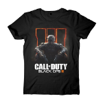 CALL OF DUTY Men's Black Ops III Box Cover T-Shirt, Extra Large, Black (TS240700CBT-XL)