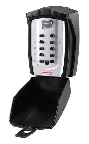 Phoenix Safe Co. KS0003C key cabinet/organizer Metal Black,Silver
