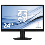 Philips Brilliance LCD monitor, LED backlight 241B4LPYCB/00