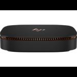 HP Elite Slice 6th gen Intel® Core™ i5 i5-6500T 8 GB DDR4-SDRAM 256 GB SSD USFF Black PC Windows 10 Pro