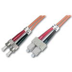 Digitus DK-2612-05 fibre optic cable 5 m ST/BFOC SC Orange