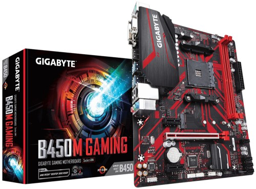 Gigabyte B450M GAMING motherboard AMD B450 Socket AM4 micro ATX