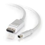 """C2G 54299 DisplayPort cable 120.1"""" (3.05 m) Mini DisplayPort White"""