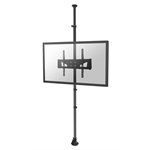 "Newstar FPMA-CF250BLACK 65"" Black flat panel ceiling mount"